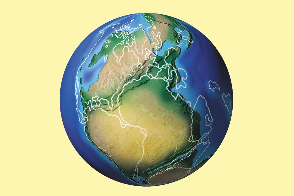 E Se... Os continentes não tivessem se separado?