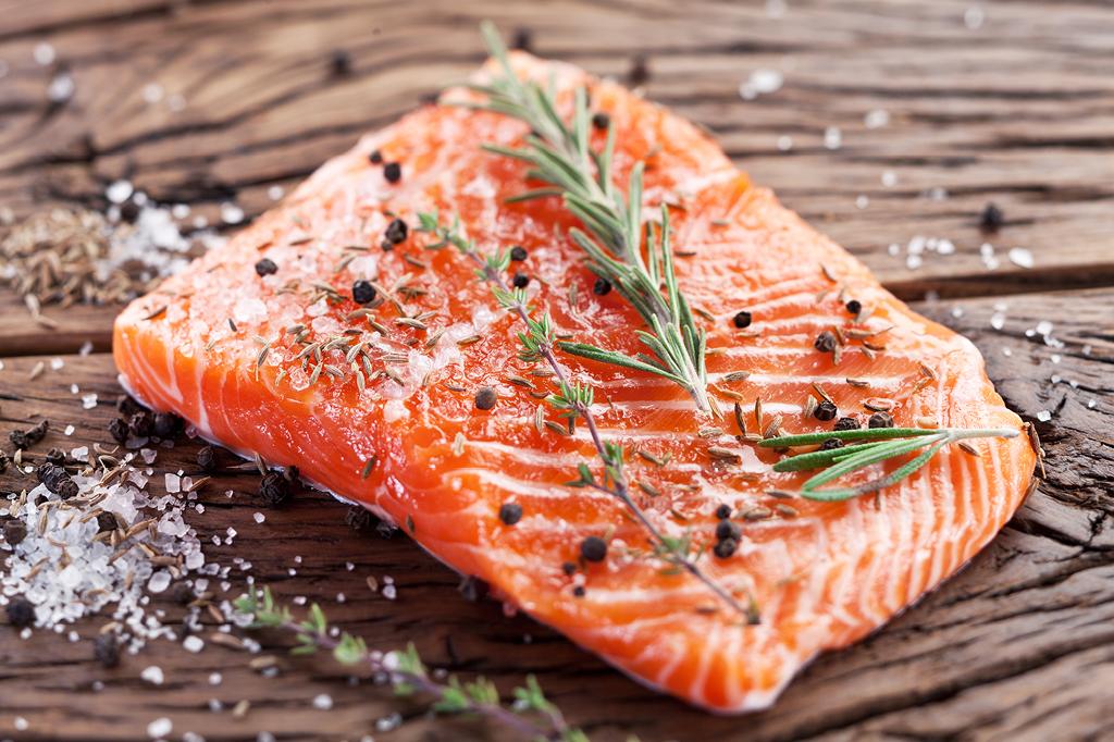 Por que o salmão é rosa?