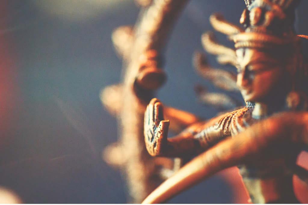 Entre o céu e os neurônios: hinduismo