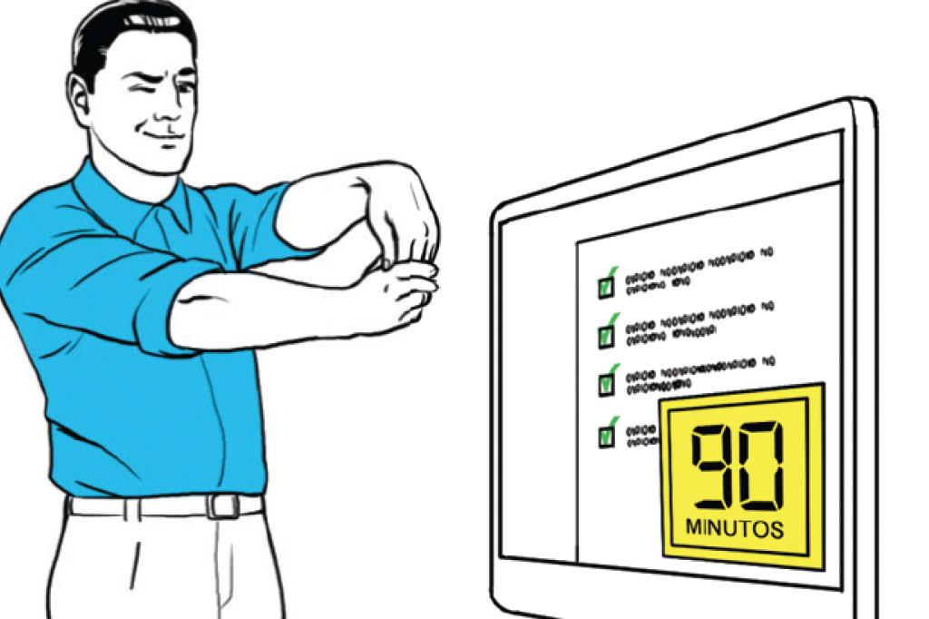 Como ser mais eficiente no trabalho - 90 minutos