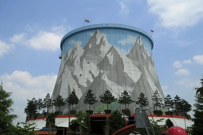 O parque de diversões nuclear