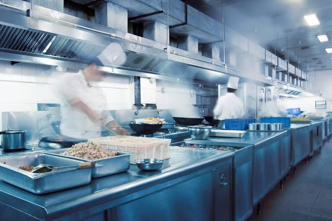 Como funciona a cozinha da firma