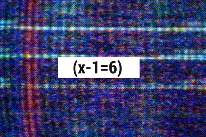 As (x-1=6) equações mais importantes da história