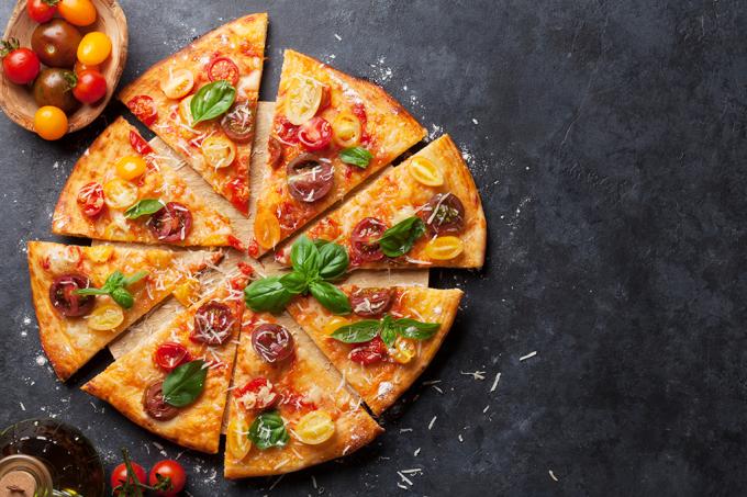 A matemática ensina novos métodos de cortar pizza