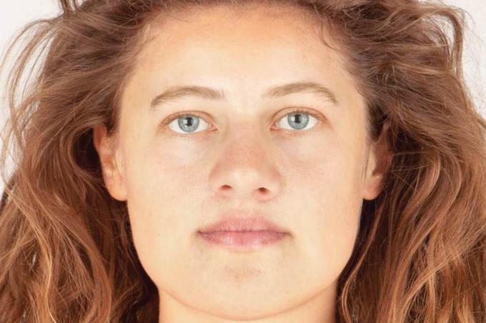 Este é o rosto de uma mulher de 3.700 anos