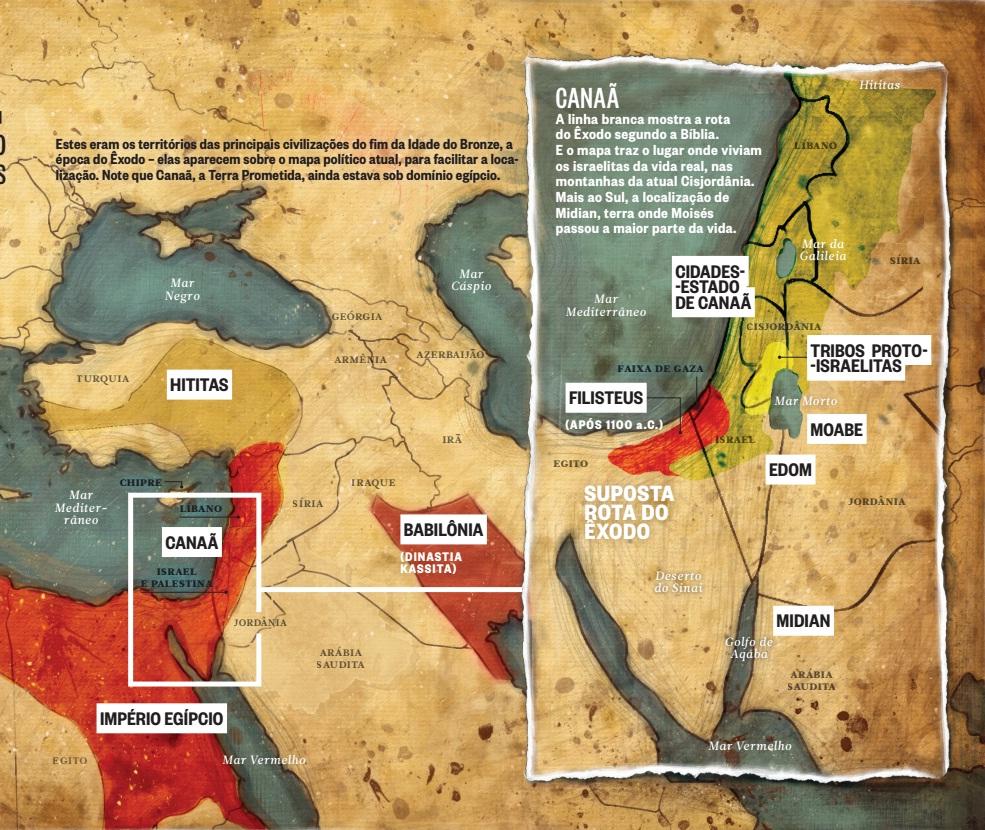 Mapa exodo