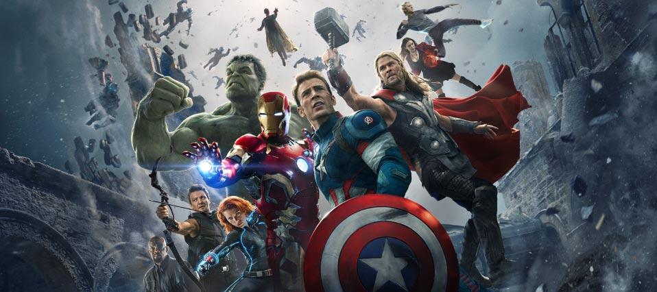 Mais de 70 filmes inspirados em HQs serão lançados nos próximos anos: Vingadores