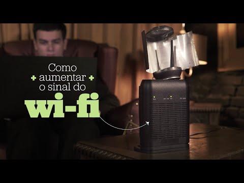 Como aumentar o sinal do wi-fi – HACK #2