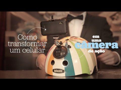 Como transformar um celular em uma câmera de ação – HACK #3