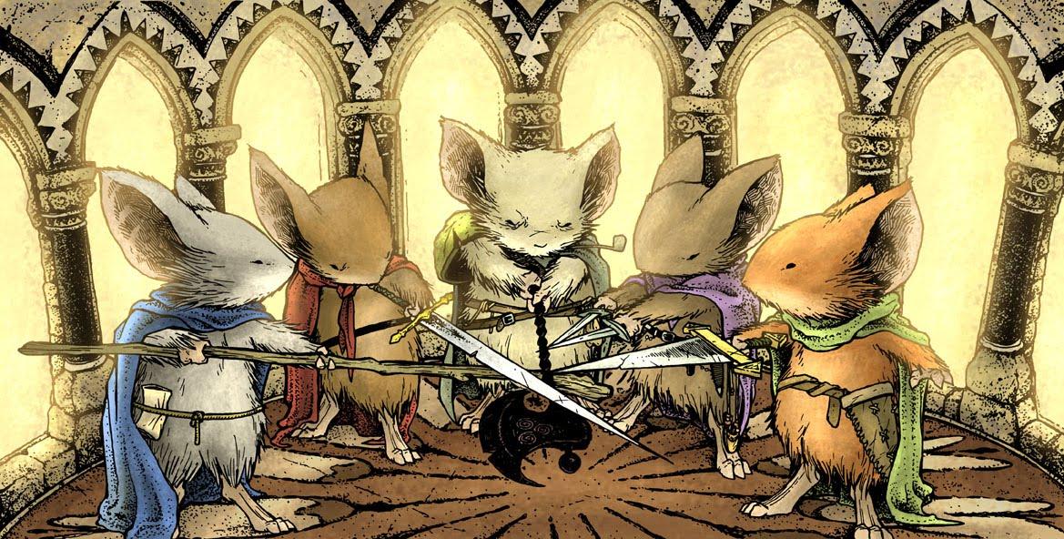 Mais de 70 filmes inspirados em HQs serão lançados nos próximos anos: Mouse Guard