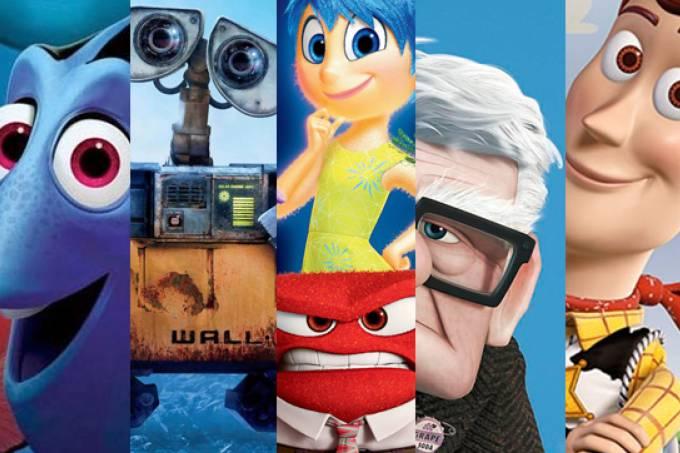 Qual animação da Pixar você é?
