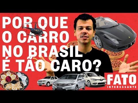 Por que é tão CARO comprar um CARRO no Brasil? – Fato #1