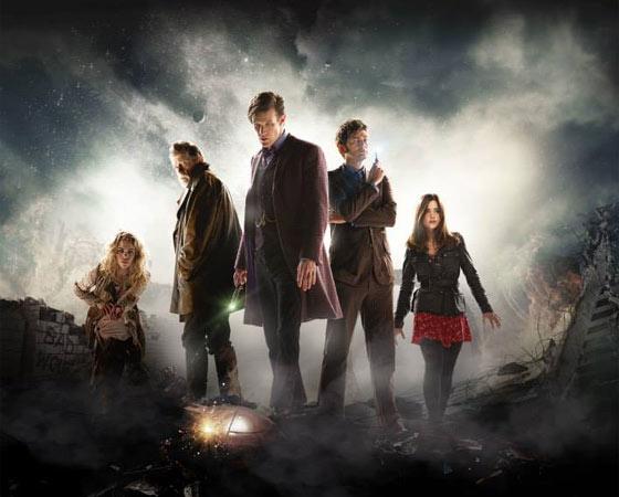 <i>Doctor Who</i> é um fenômeno mundial. Em agosto de 2014, os protagonistas Peter Capaldi e Jenna Coleman fizeram uma turnê mundial para divulgar a estreia da 8ª temporada da série e passaram pelo Brasil.