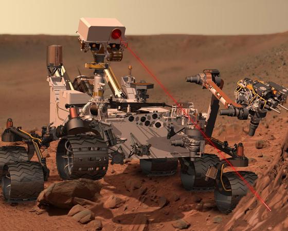 MSL (Lançamento: 2011) - Esta é a missão da vez. A mais sofisticada sonda que pousará em Marte, o jipe-robô Curiosity, procurará indícios de condições favoráveis à vida, a partir da análise de minerais argilosos (formados com água) identificados por lá. Também coletará dados para uma futura missão tripulada.