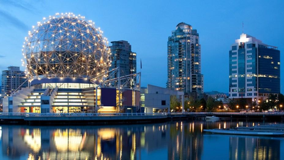 1º da América: Vancouver, no Canadá(5º lugar geral)
