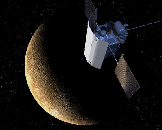 MESSENGER (Lançamento: 2004) - A primeira sonda a orbitar Mercúrio demorou 6 anos e meio para chegar ao menor planeta do Sistema Solar. Desde então, a missão vem cumprindo o feito inédito de mapear toda a superfície do planeta - ela já nos enviou quase 100 mil fotos em alta resolução.