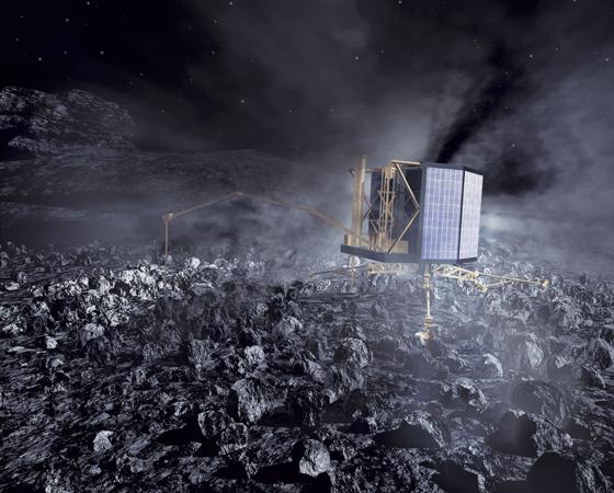Rosetta (Lançamento: 2004) - Esta sonda tem um objetivo inédito: pousar em um cometa. Quando vencer os 790 milhões de quilômetros e finalmente encontrar o Cometa 67P em 2014, a nave europeia irá lançar o módulo Philae para pousar no núcleo de gelo do cometa e estudar a origem destes objetos e suas implicações com a origem do Sistema Solar.