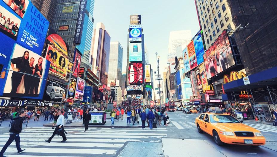 8ºda América: Nova York, nos Estados Unidos (44º lugar geral)