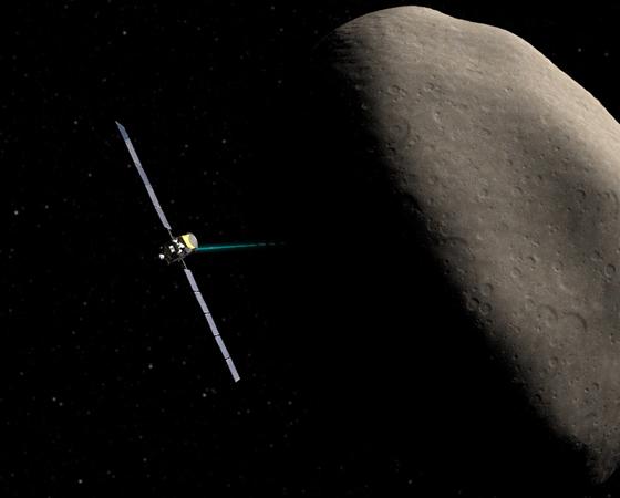 Dawn (Lançamento: 2007) - Quais são as condições para a formação e evolução dos planetas? É a esta pergunta que a missão americana está tentando responder ao visitar os dois maiores protoplanetas do Cinturão de Asteroides: Vesta e Ceres. A sonda atualmente se encontra na órbita do asteroide Vesta e deve chegar a Ceres em 2015.