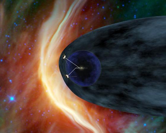 Voyager 1 e 2 (Lançamento: 1977) - Esta é a missão mais longa em atividade no espaço. Voyager 1 é o artefato produzido pelo homem mais distante da Terra e está prestes a sair do Sistema Solar. Uma curiosidade: ambas carregam um disco com sons e imagens da Terra selecionados por uma comissão presidida por Carl Sagan. Vai que...