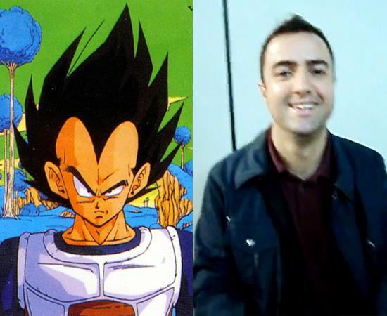 Dublador: Alfredo Rollo. Deu voz ao Vegeta (Dragon Ball Z e a personagens do Heath Ledger (como O Segredo de Brokeback Mountain).