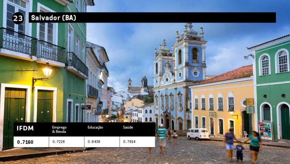 23 - Salvador(BA):IFDM 0,7160<br />