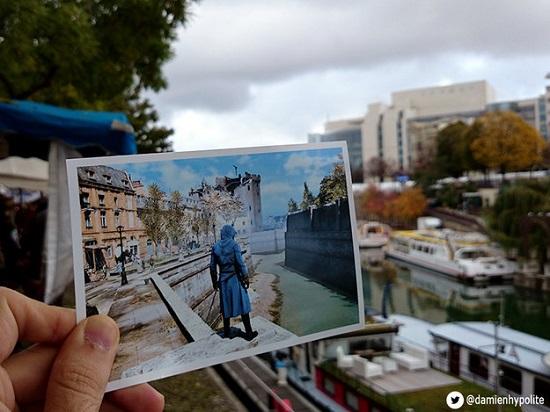 Os canais formados pelo Rio Sena também serviram de inspiração para Assassins Creed.