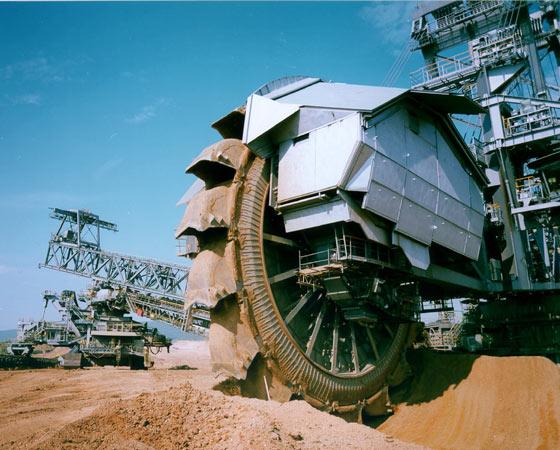 O tempo previsto de uso da máquina é por volta de 40 anos.