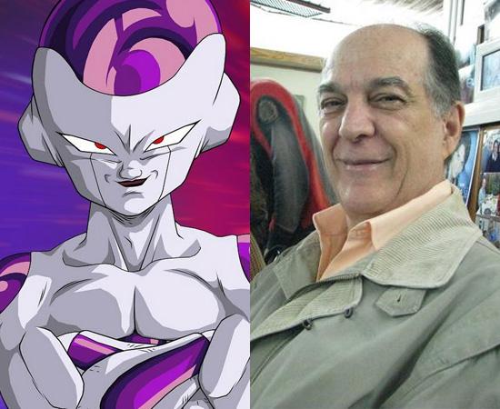 Dublador: Carlos Campanile. Fez a voz de Thor de Phecda (Cavaleiros do Zodíaco), Freeza (Dragon Ball Z), Super-Homem (série de TV), entre vários outros personagens.