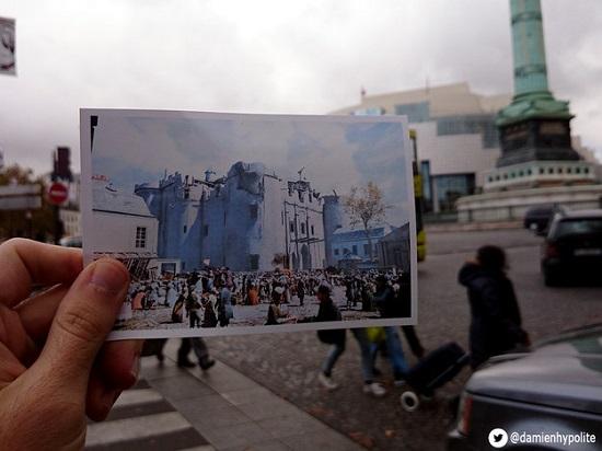 Alguns dos lugares não existem mais. O melhor exemplo é a Bastilha, uma prisão que foi tomada pelos rebeldes no dia 14 de julho de 1789, marcando o começo da revolução. A bastilha foi demolida meses depois.