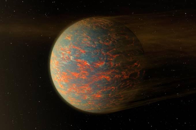 Ilustração de 55 Cancri | NASA/JPL-Caltech