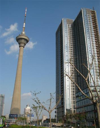 8. Tianjin Tower. A torre de 415 metros de altura existe desde 1991 em Tianjin, na China. Sim, mais uma que fica na China.