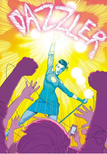 A-Force é a equipe dos Vingadores formada exclusivamente por mulheres (e, olha, os homens não fazem falta nenhuma). Quem ilustra a arte da quarta edição éJamie McKelvie