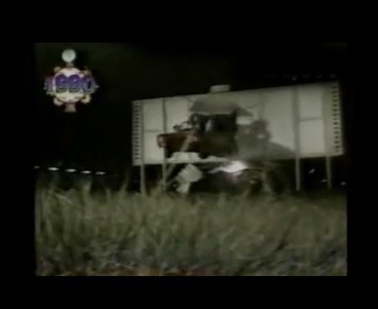 O Viva a Noite tinha um quadro peculiar chamado Sonho Maluco, em que um fã via seu sonho realizar-se na TV. Sabe-se lá por quê, um sujeito queria ver o vereador de São Paulo Agnaldo Timóteo, que na época era cantor e ex-deputado, atravessar um outdoor de carro. Ele quase morreu.
