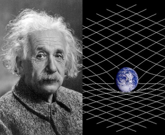 TEORIA DA RELATIVIDADE GERAL (1915) -  Publicada pelo cientista Albert Einstein, a teoria ampliou as concepções astrofísicas da época e gerou polêmica entre estudiosos.