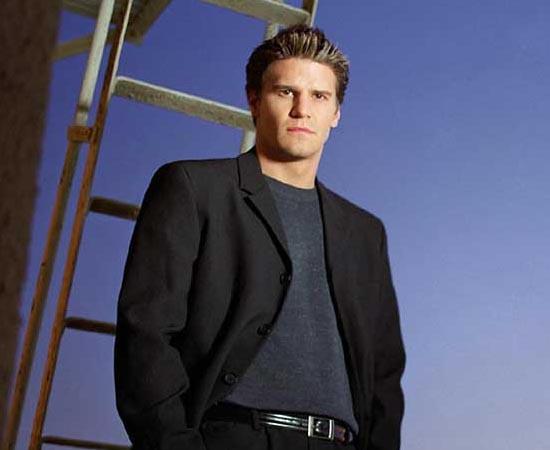 Angel é um dos personagens da série de TV Buffy: A Caça Vampiros e o protagonista do spin-off Angel. Ele é um vampiro com alma que trabalha como detetive particular para livrar a cidade de Los Angeles de demônios.