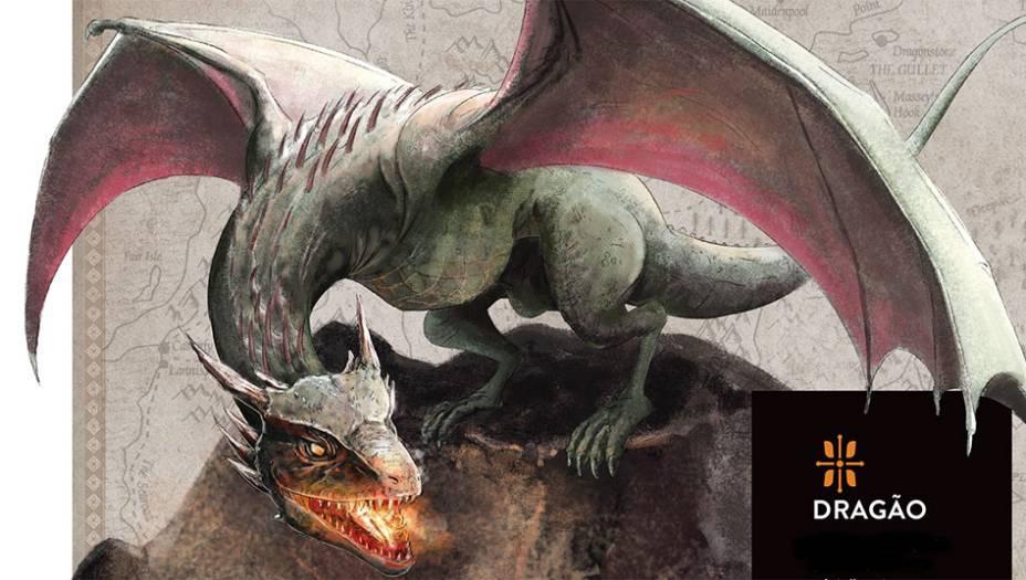 Dragões são répteis grandes, ferozes e inteligentes que voam e cospem fogo. Foram trazidos de Essos para Westeros por Aegon Targaryen, que os usou para conquistar os Sete Reinos, apoiado apenas por um punhado de soldados. Os ovos de dragão foram encontrados milhares de anos antes por pastores de Valíria dentro de vulcões. Os dragões de <em>Game of Thrones</em> têm duas patas (os membros dianteiros são asas). Na mitologia tradicional, eles chamam Wyvern ou Serpe.