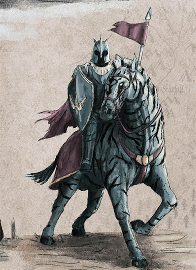 """Zorses são cavalos listrados debranco e preto, parecidoscom zebras, trazidos comomontaria para Westeros porestrangeiros. São comuns naplanície de Jogos Nhai, emEssos. Na vida real, filhotes dezebras com cavalos existem,mas são estéreis e levam opitoresco nome de """"zebralos""""."""