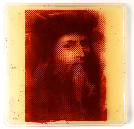 Leonardo Da Vinci, um dos artistas preferidos de Zachary Copfer, não poderia ficar de fora.