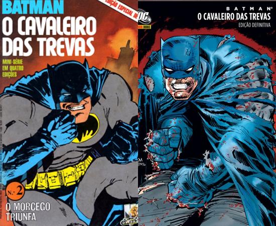 Cavaleiro das Trevas era uma HQ (e ninguém chamava de graphic novel) e bombava nas bancas.