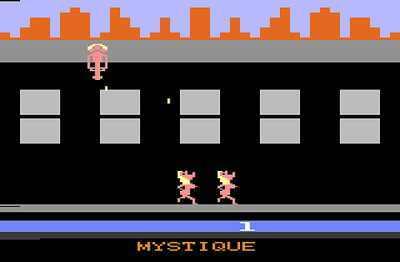 Outro jogo pornográfico para Atari que causou polêmica: <i>Beat Em & Eat Em</i>. Nele, o jogador controla duas mulheres nuas, que devem alcançar o sêmen de um homem que está se masturbando.