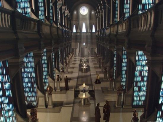 Os Arquivos Jedi aparecem no filme Guerra nas Estrelas - Episódio II: O Ataque dos Clones. Lá está acumulado todo o conhecimento do Universo.