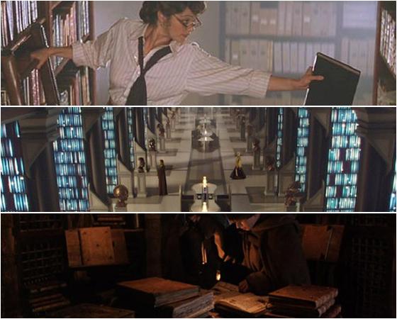 Bibliotecas são importantes cenários da ficção. Seja em Harry Potter ou Guerra nas Estrelas, elas acumulam conhecimento e são citadas em alguma parte da trama. Veja na galeria da Super 9 incríveis bibliotecas da ficção.