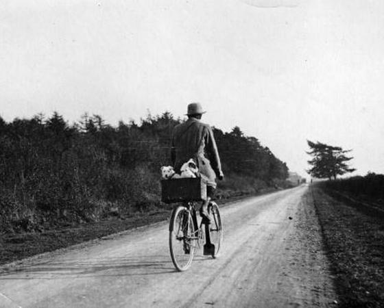 Década de 1900 - MEIO DE TRANSPORTE: Surgem os primeiros modelos com freio, marchas e cubo com roda livre, que permite que a bicicleta continue em movimento quando o ciclista para de pedalar.