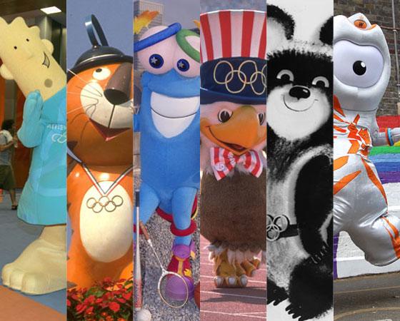 Desde que apareceram pela primeira vez, nas Olimpíadas de Inverno de 1968 em Grenoble (França), os mascotes olímpicos se tornaram um símbolo tradicional dos Jogos. Por isso, a SUPER reuniu todos os mascotes feitos desde essa época para você ir se preparando para as Olimpíadas de Londres, que começa no dia 27 de julho!