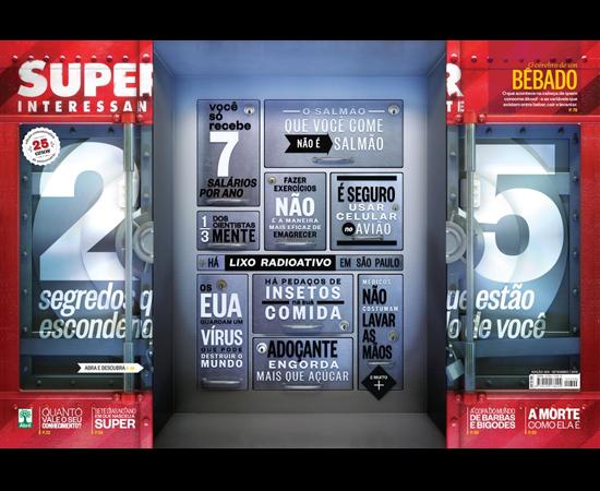 Os efeitos de viver como no ano em que a SUPER nasceu você poderá ler na edição de setembro da revista. Voltei para 2012 e a Nasa tinha chegado a Marte e os celulares de São Paulo ganharam um 9 porque o limite de números possíveis estava se esgotando. Incrível.