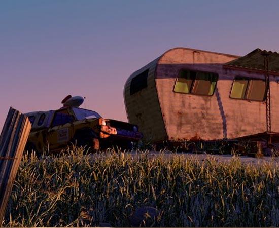 No filme Vida de Inseto (1998), o carrinho da Pizza Planet aparece ao lado de um trailer, quando um inseto faz um alerta sobre o perigo da lâmpada anti-mosquito.