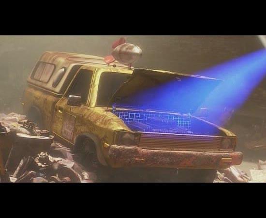No filme Wall-E (2008), o veículo da Pizza Planet aparece todo enferrujado na Terra. A robô EVA até o escaneia durante sua missão exploratória.