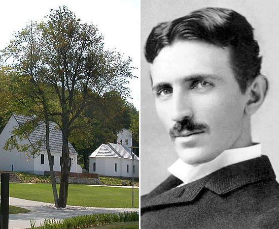 NASCIMENTO - Nikola Tesla nasceu em 10 de julho de 1856, em uma pequena aldeia do Império Austríaco (atual Croácia). Ele morava nesta casa com os pais e tinha quatro irmãos. Seu pai era presbítero da Igreja Ortodoxa Sérvia.