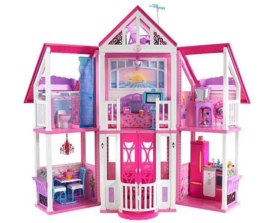 CASINHA DE BONECA - Quem realizava o desejo de ganhar uma Barbie também sonhava com este presente! O problema era o preço, muitas vezes, inacessível.